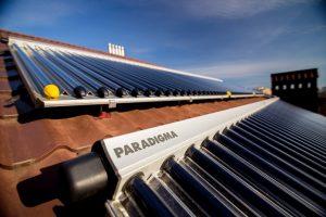 Paradigma-Solaranlage auf Hotel in Ukraine