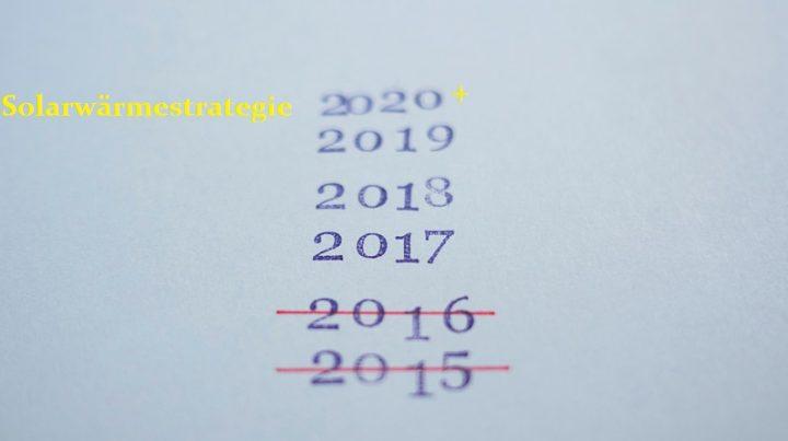 DSTTP neue Solarwärmestrategie 2020+