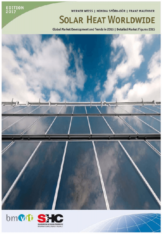 Solarthermie-Markt 2016