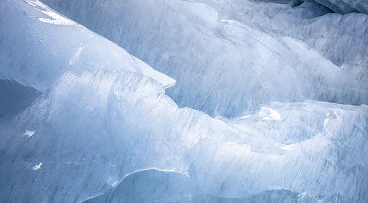 gletscher eis blei luftverschmutzung