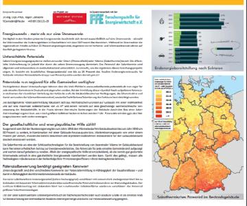 Regionales Potential von Solarthermie