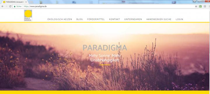 Startseite Paradigma
