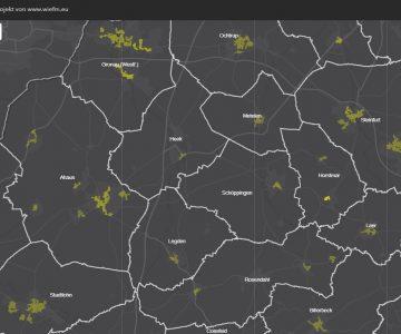FH Muenster Waerme Hotspot Karte online