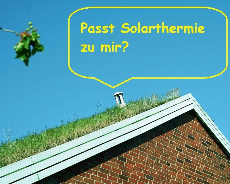 Gründach und Solarthermie Grundlagenwissen