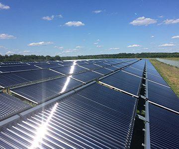 Solarthermie-Anlage Senftenberg