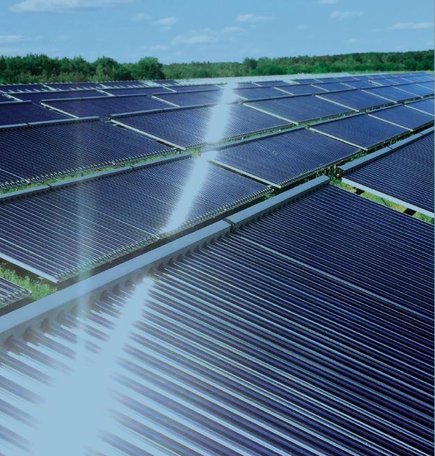 Absatz von Solarthermie-Kollektoren steigt