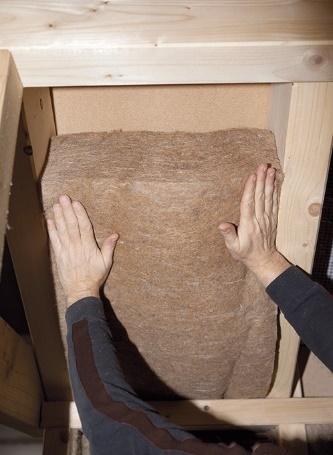 upcycling aus gebrauchten jute s cken werden jute d mmmatten. Black Bedroom Furniture Sets. Home Design Ideas