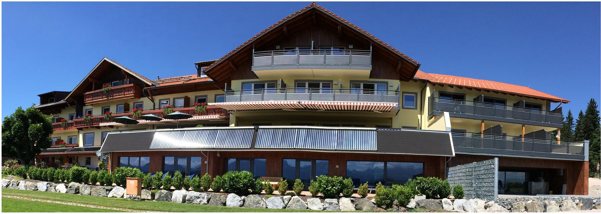 Solarthermie-Anlage Land- und Wellnesshotel Wanner Allgäu, Handwerker des Monats 12_2017 Siegfried Müller Seeg