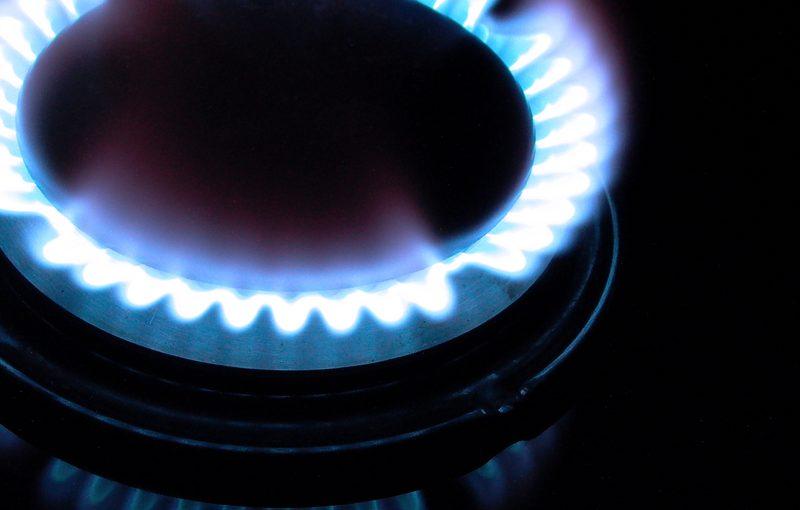 Brennstoff-Check Gasflamme Heizgas