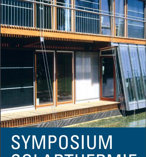Symposium Solarthermie 2018