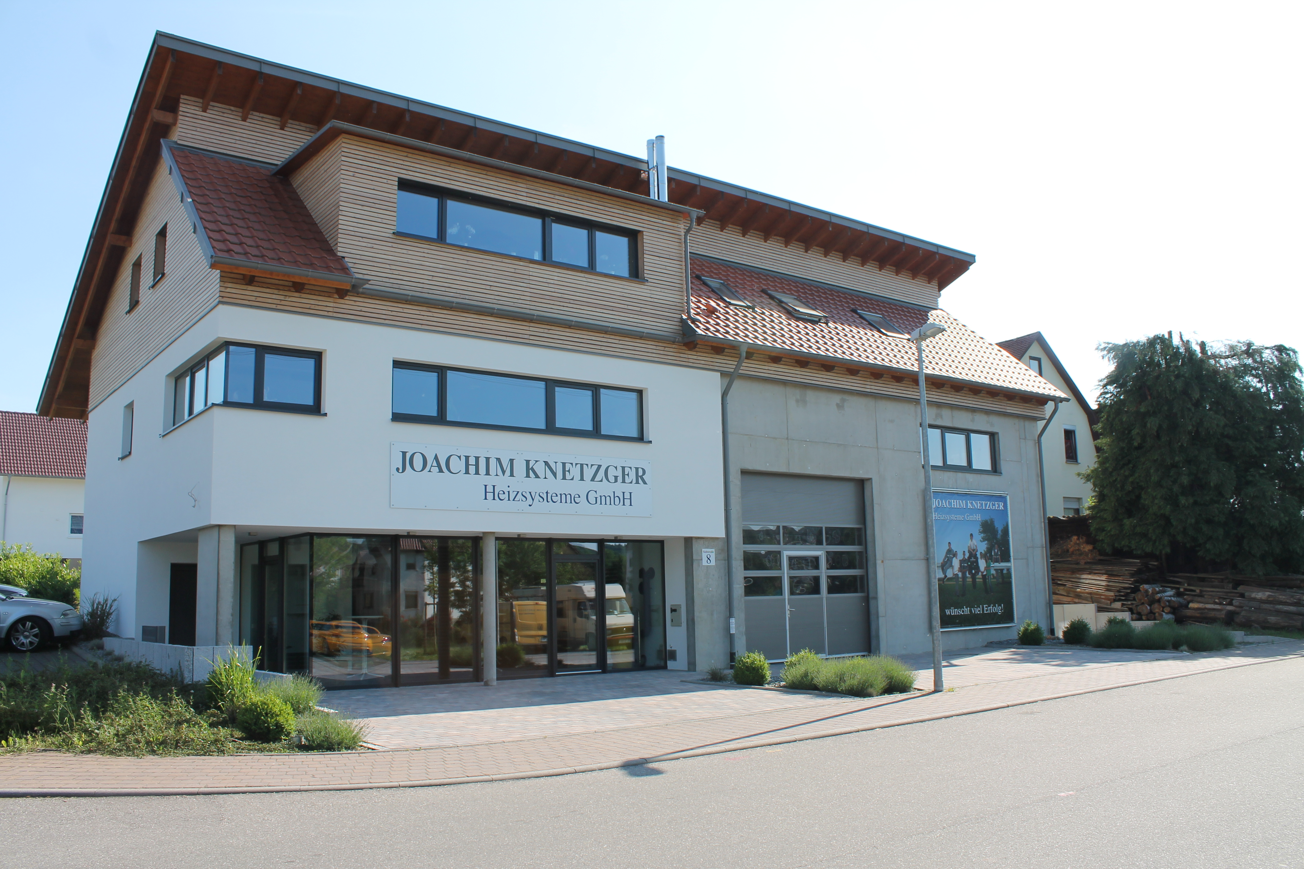 Firmensitz Joachim Knetzger Dandwerker ds Monats Mai 2018 Pfaffenhofen
