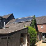 2. Projekt des Monats: Pellets plus Solarthermie-Anlage für Omas altes Haus
