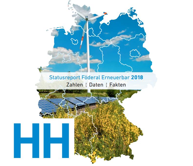 StatusreportFöderal Erneuerbar 2018_Hamburg_Titel