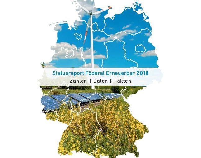 StatusreportFöderal Erneuerbar 2018_Titel