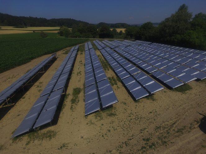 Randegg Solardorf Solarthermie-Anlage Ritter XL Solar
