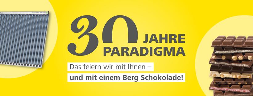 30 Jahre Paradigma Aktion