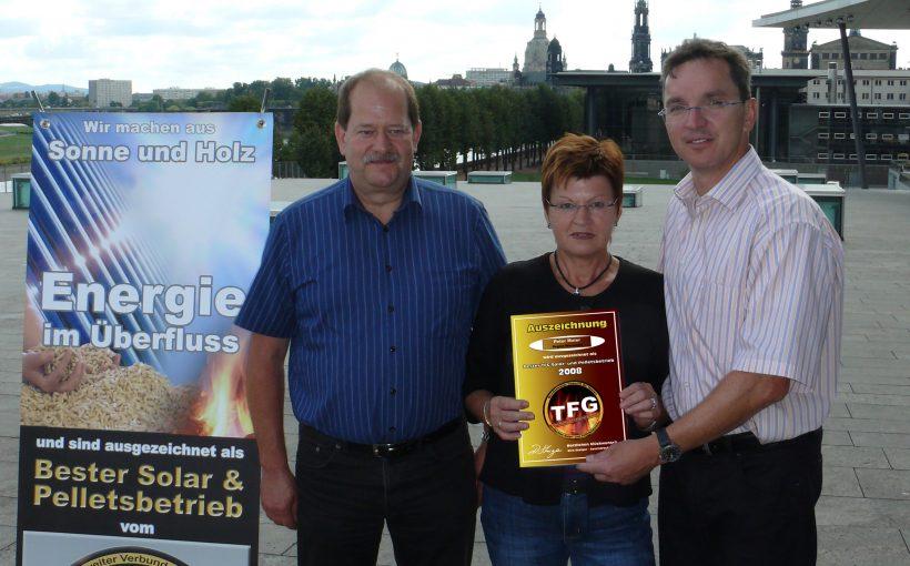 30 Jahre Paradigma Peter Maier und Frau tfg ehrung 2008