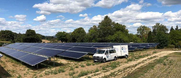 Randegg Solarthermie-Großanlage Handwerker des Monats Ruh Haustechnik GmbH & Co. KG