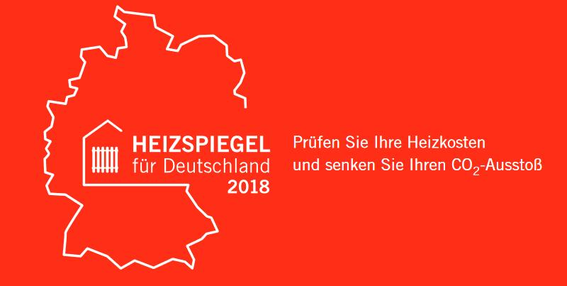 Heizspiegel 2018 für Deutschland