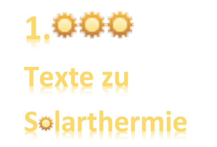 1.000 Texte zu Solarthermie
