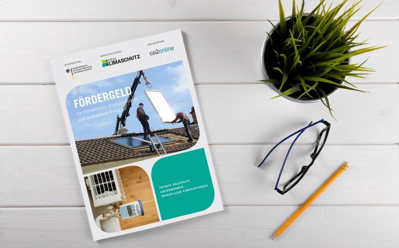Fördergeld Broschüre Wegweiser 2019 Solarthermie