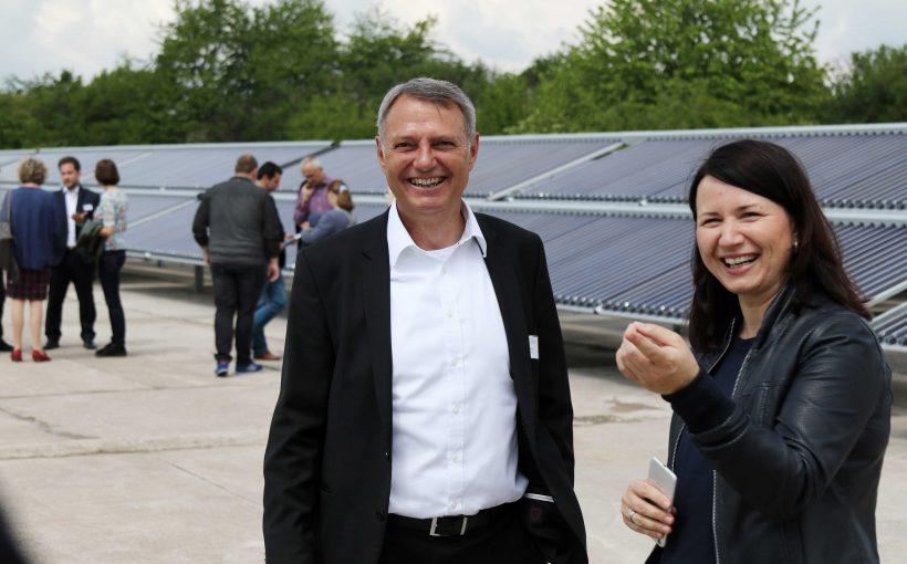 Solarthermie-Anlage Erfurt von Ritter XL Solar