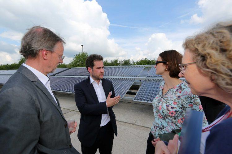 Erfurt Solarthermie-Anlage von Ritter XL Solar