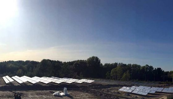 Solare Großanlage der Stadtwerke Potsdam