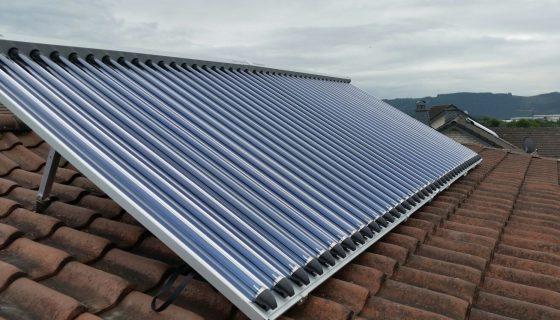 Solarthermie-Anlage Paradigma Projekt des Monats Minkau