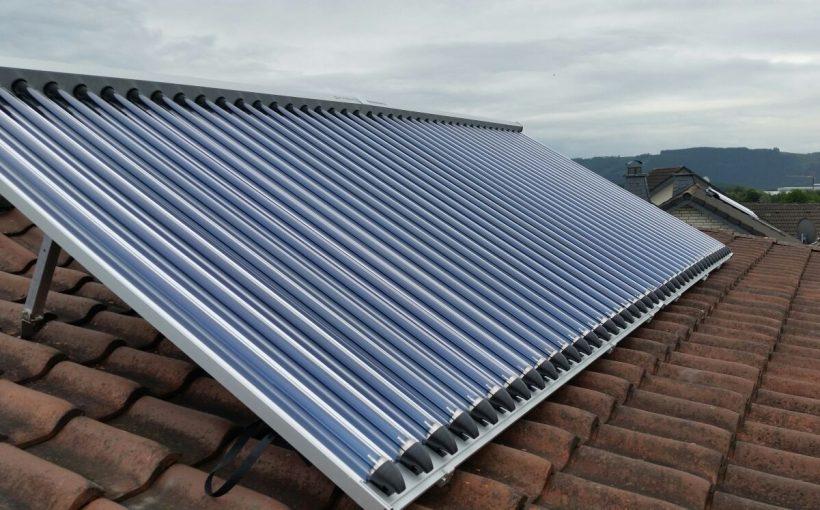 DEmokratie und Solarthermie-Anlage Paradigma Projekt des Monats Minkau