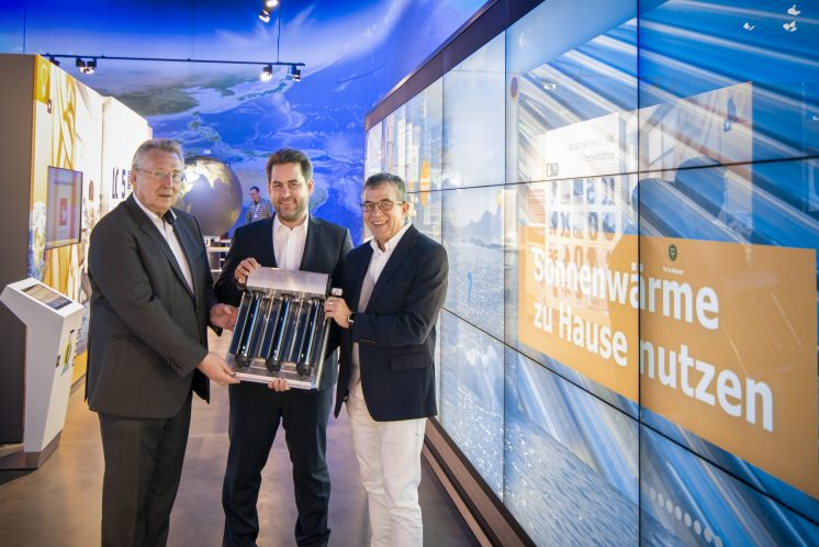 SOlarthermie von Ritter für Klima Arena in Sinsheim