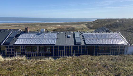 Projekt des Monats Mai 2020 Solarthermie für Zeltlager Strandläufernest auf Sylt Paradigma