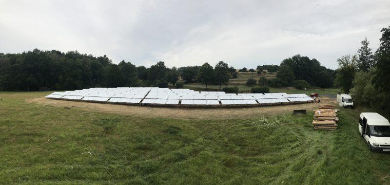 Ritter XL Solar neue Solarthermie-Großanlage in Bergheim