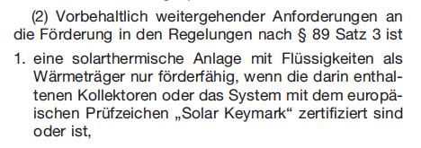 GEG_§90_Satz 2_Förderung Solarthermie-Anlagen_Solar Keymark 3