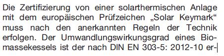 GEG_§90_Satz 2_Förderung Solarthermie-Anlagen_Solar Keymark