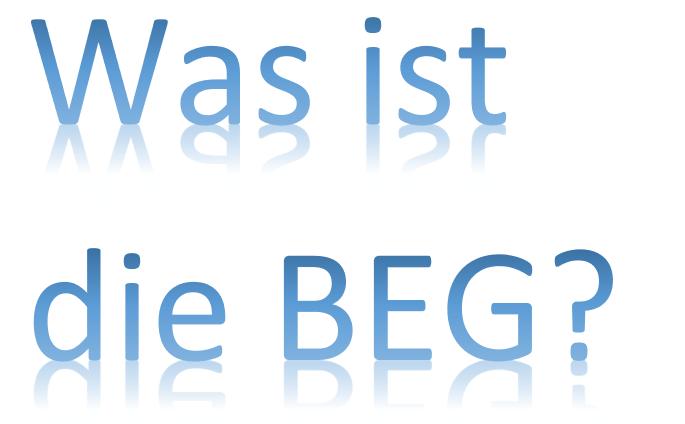 BEG - FAQ