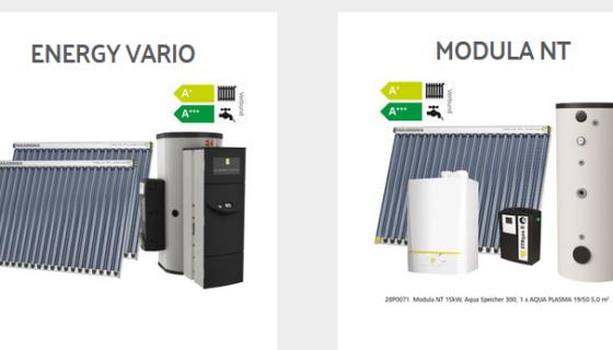 Gas-Hybridheizung