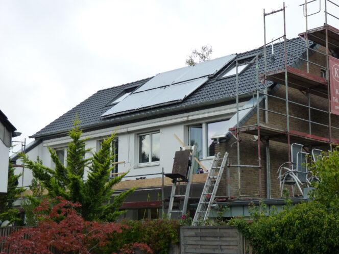Dreifamilienhaus mit Solarthermie-Anlage
