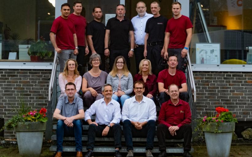 EnVis Monschau Handwerker des Monats März 2021 Team