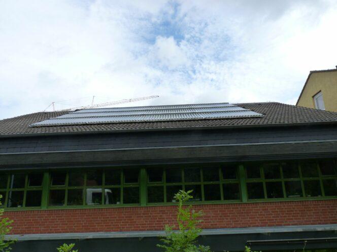 breitenbenden Solarthermie-Analge Paradigma