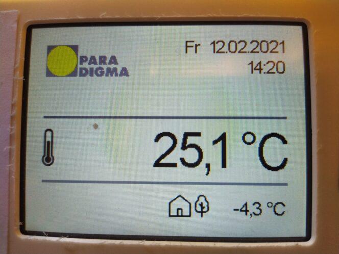 Solarthermie im Winter Solarwärme beiSchnee