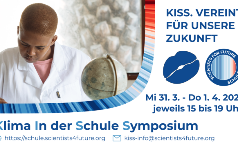 KISS Klima in der Schule Symposium #Scientists4Future