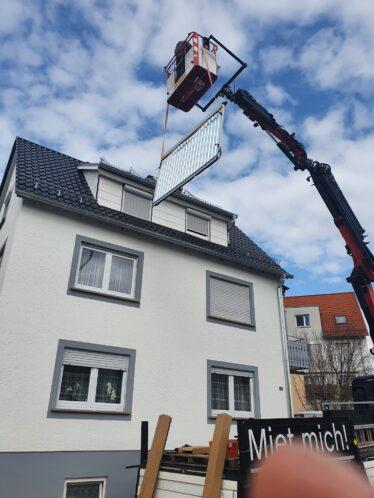 Solarthermie-Anage des Monats April 2021 Asllan Paradigma Hebekran