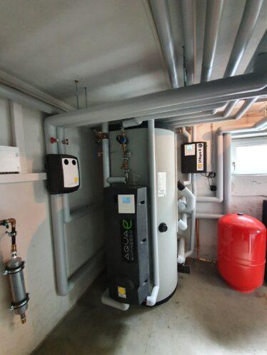 Solarthermie-Anlage des Monats April 2021 Paradigma Asllan Pufferspeicher