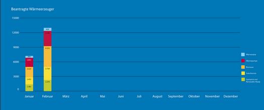 BAFA-Antragszahlen Januar Februar 2021_Beantragte Wärmeerzeuger