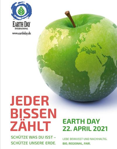Earth Day 2021 Jeder Bissen zählt!