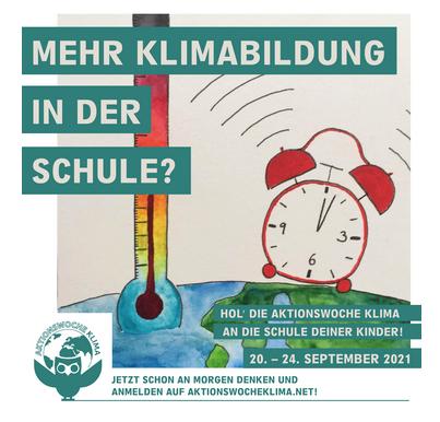 Aktionswoche Klima Wecker