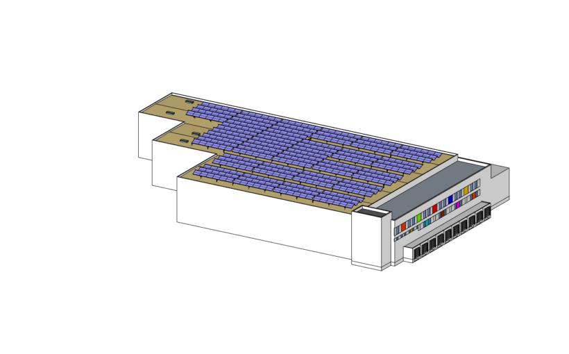 Deutschlands größte Solarthermie-Dachanlage