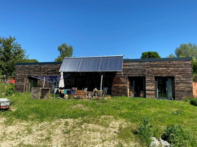 1. Projekt des Monats 2021 Paradigma Solarthermie Herold Hausansicht