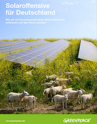 Greenpeace-Studie Potential Solarenergie